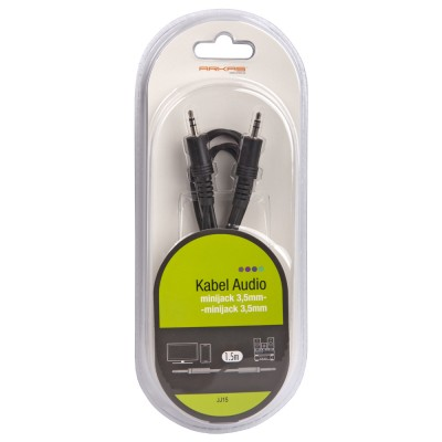 Kabel audio 1.5m Arkas JJ15