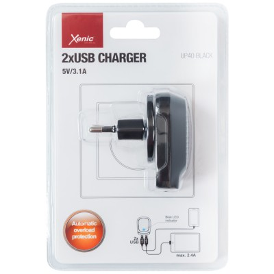 Charger Xenic UP-40 black