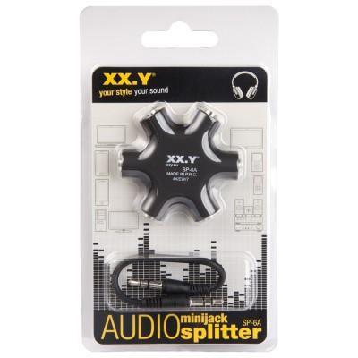 Splitter audio minijack...