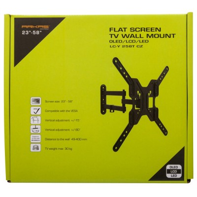 Wallmount with arm LCY 258T CZ
