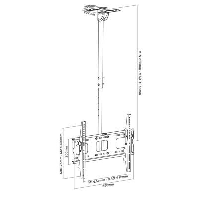 Ceiling mount ATC 88