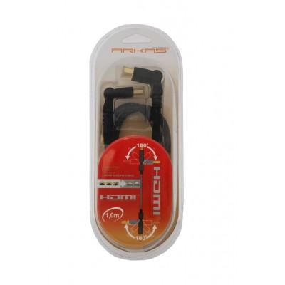 Cable HDMI - HDMI 1 m Arkas...