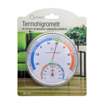 Analog thermometer with...
