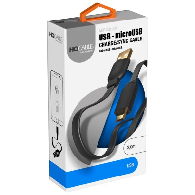 USB - Micro USB Flat Cable...