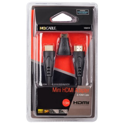 Mini HDMI Adapter & HDMI...