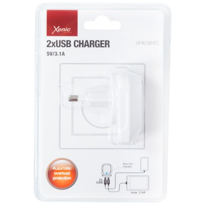 Charger Xenic UP-40 white