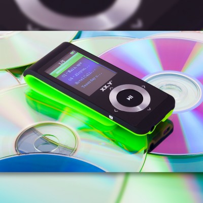 MP4 Player XX.Y A496BT - green