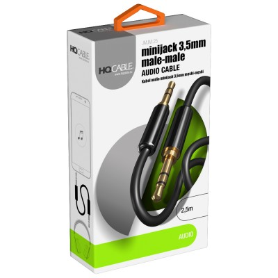 Kabel Audio 2,5 m HQCable...