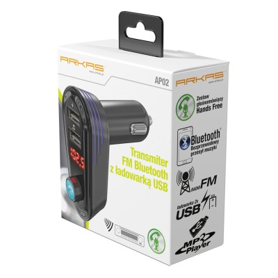 Transmiter FM Bluetooth z...